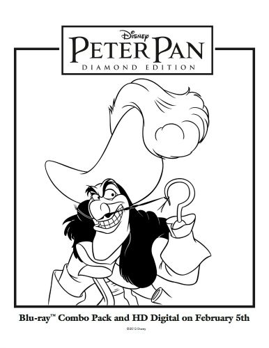 78+ images about Coloring Pages/LineArt-Disney-Peter Pan