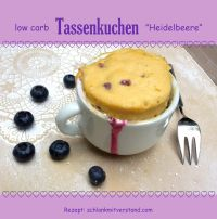 65 best images about Low Carb Tassenkuchen on Pinterest