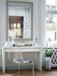MALM Dressing table, white | Vanities, Dressing tables and ...
