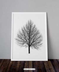 Black And White Tree Wall Art | www.pixshark.com - Images ...