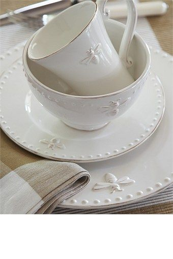 kitchen dining sets the home and store tableware - french bee dinner plate set | plates + vases ...