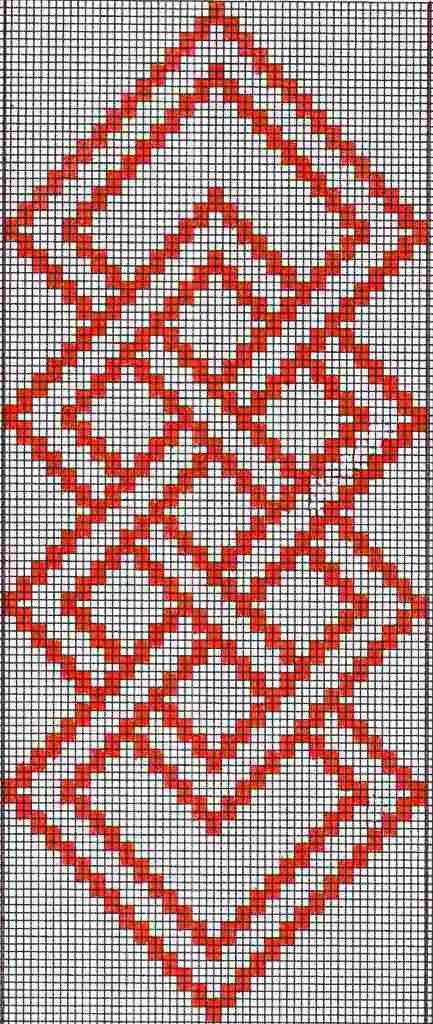 Pattern Charts Simple Warp Floats Weaving Patterns