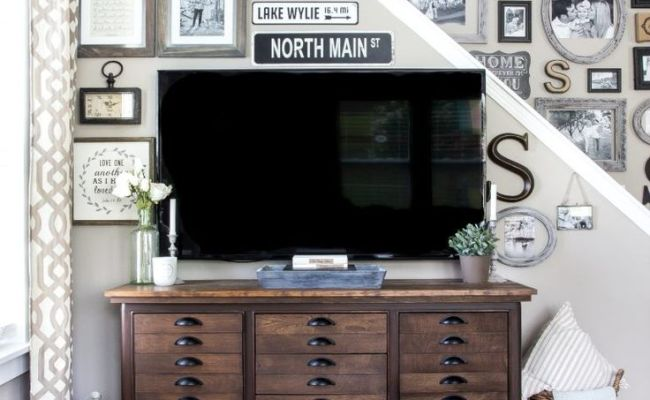 25 Best Ideas About Decorating Around Tv On Pinterest