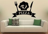 Pizzeria Wall Decal Wall Vinyl Sticker Pizza Restaurant ...