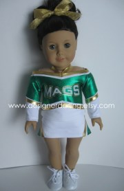 custom matching cheer outfit