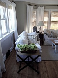 17 Best images about Rustic curtains on Pinterest | Sheer ...