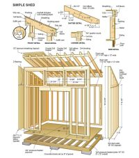 14 X 24 Shed Plans Free : Sheds Blueprints 7 Steps To ...