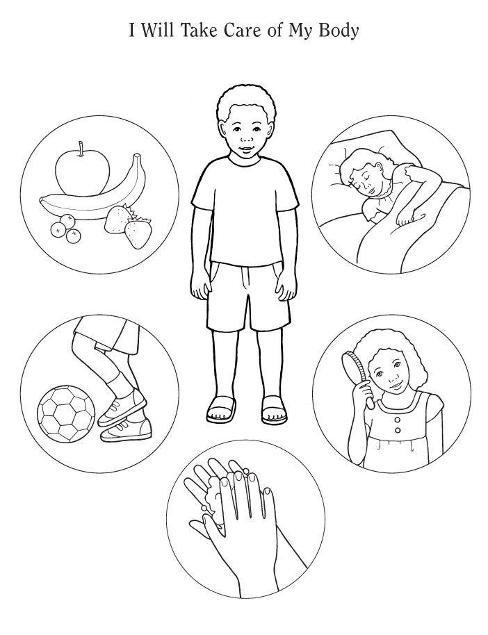 Body Parts Lesson Plan For Kindergarten