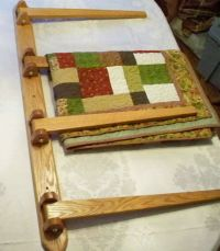 Free Hanging Quilt Rack Plans - WoodWorking Projects & Plans
