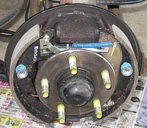 2003 Ford Taurus Drum Brakes   Sable & Taurus Brake