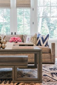 Jill Litner Kaplan Interiors - living rooms - ikat rug ...