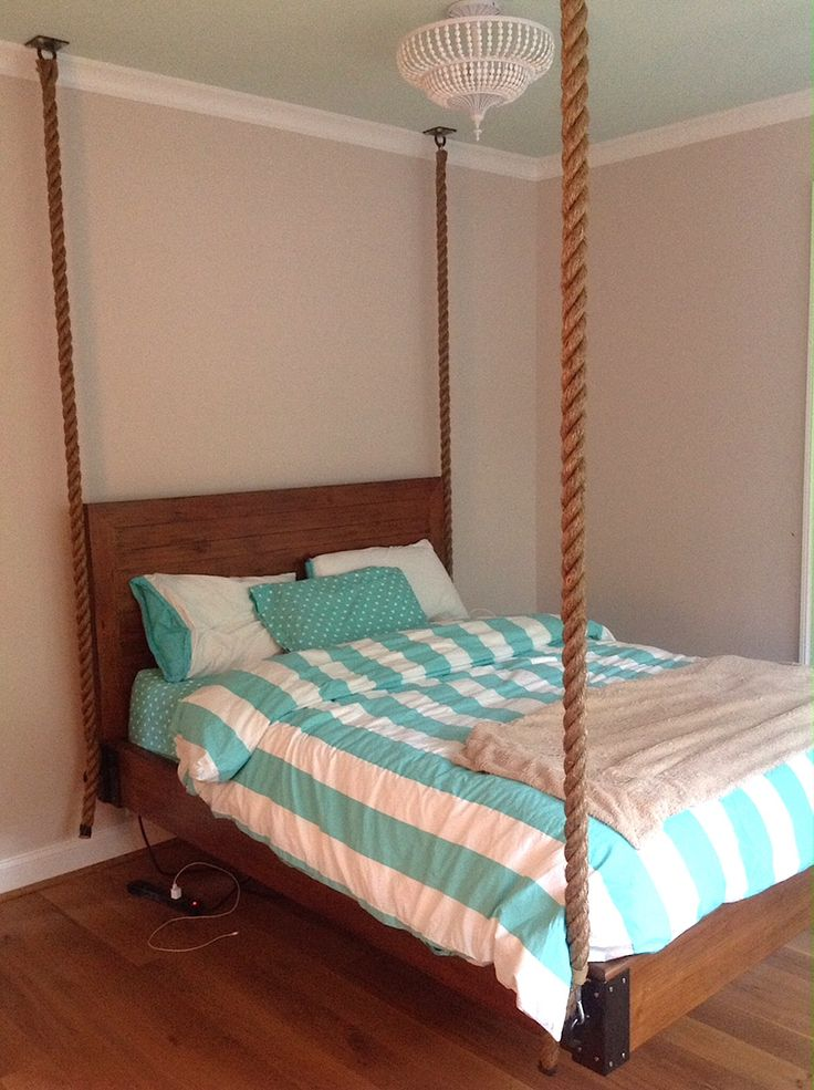 Hanging Rope Bed for Girls Bedroom  Hanging rope Products and Beds