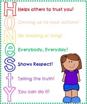 Honesty Activities  Activities
