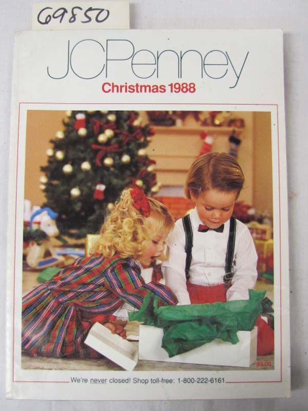 JCPenney Christmas Catalog Wish Book Cover1988 Christmas