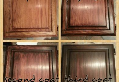 General Finishes Gel Stain On Kitchen Cabinets