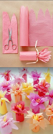 DIY gift wrapping ideas could use this idea for nailpolish or small bottles of lotion or