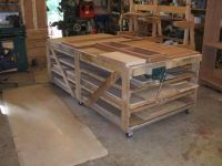 Workbench/Assembly table ideas.   Shop - Assembly Tables ...