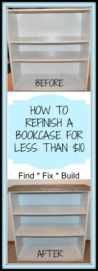 1000+ ideas about Old Bookcase on Pinterest | Upcycled ...
