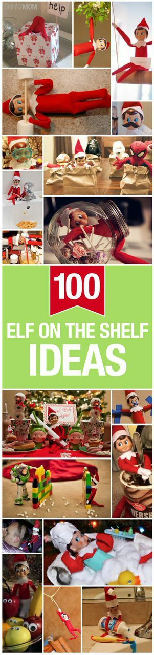 Here are some of the greatest elf on the shelf ideas for you to try!