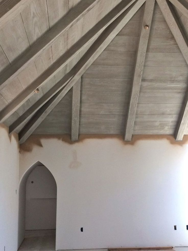 25+ best ideas about Painted wood ceiling on Pinterest