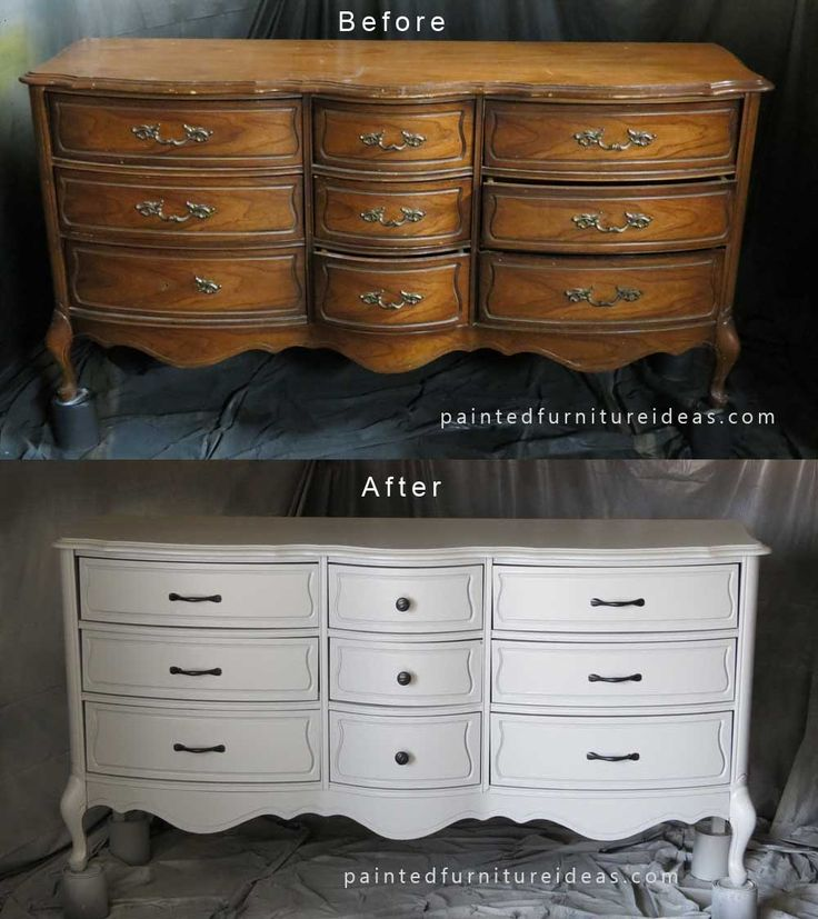 Antique Dresser Refinish Project  The white Dresser refinish and Antique dressers