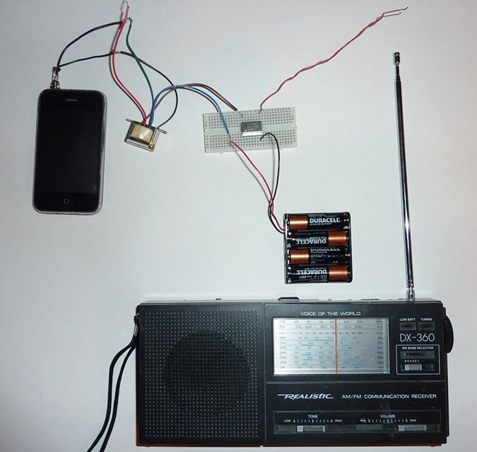 Radio Station Science Project Homemade Circuit Designs Just For You