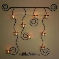 17 Best ideas about Wrought Iron Candle Holders on ...
