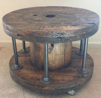 25+ best ideas about Wooden cable spools on Pinterest ...