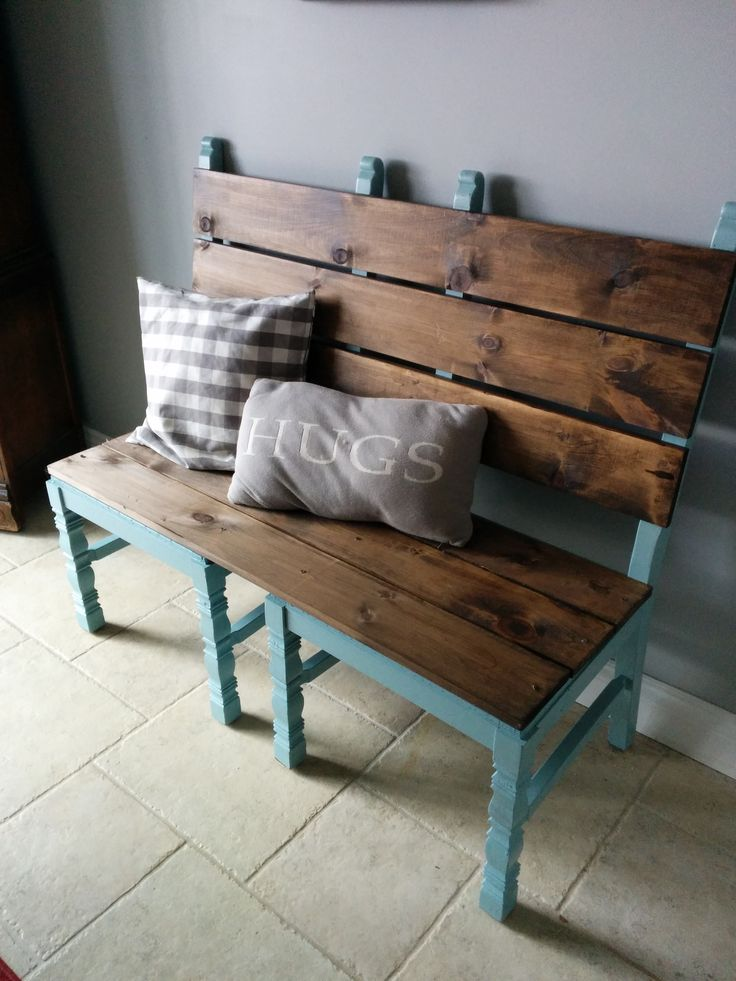 25+ best ideas about Chair Bench on Pinterest
