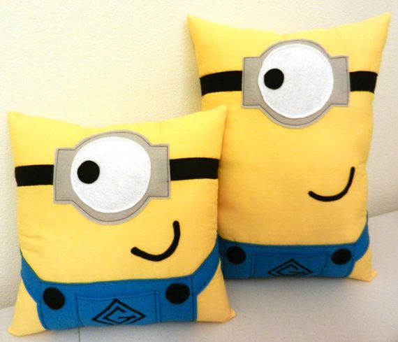Minion Pillows Custom ordering available by