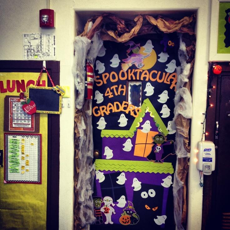 Best 25+ Halloween classroom door ideas on Pinterest
