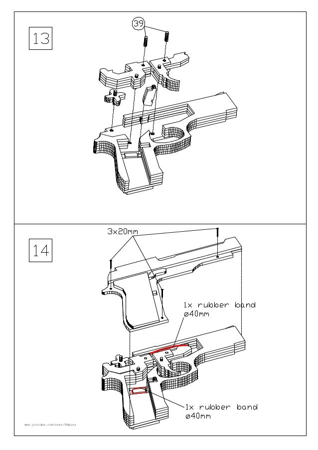 438 best images about Rubber Band Gun on Pinterest