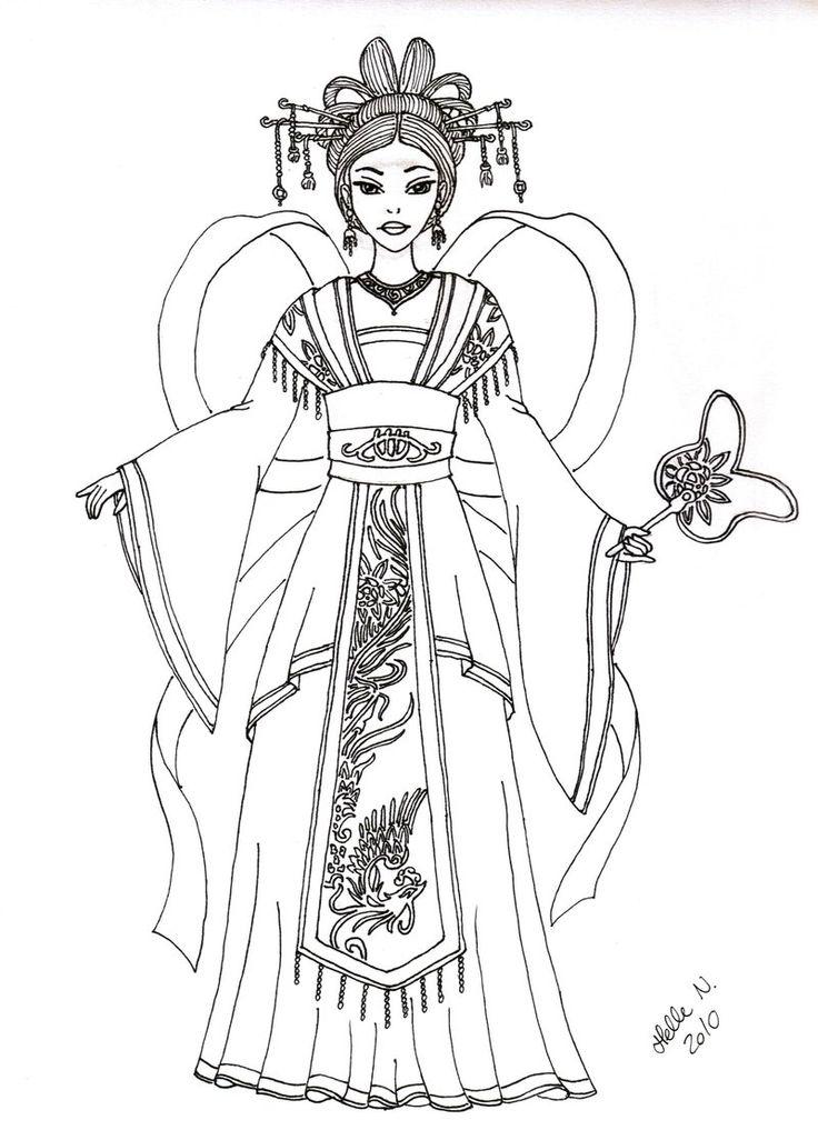 Chinese Phoenix Empress by hellenielsen82.deviantart.com