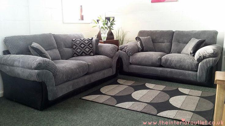 free sofa leeds extra wide table dfs langley grey chunky cord 3 | beautiful bargain ...