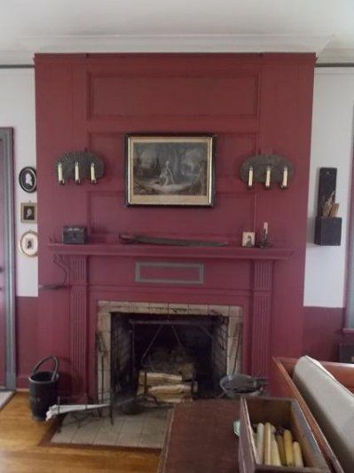 15 Colonial Fireplace Design Ideas Compilation Fireplace Ideas 1000+ Ideas About Red Painted Walls On Pinterest | Red