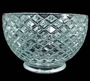 Clear Glass 4 Gas Light Style Shade Lighting Replacement Lampshade for use in Antique Vintage