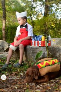 Hot Dog Vendor Costume | Homemade Halloween, Hot Dogs and ...