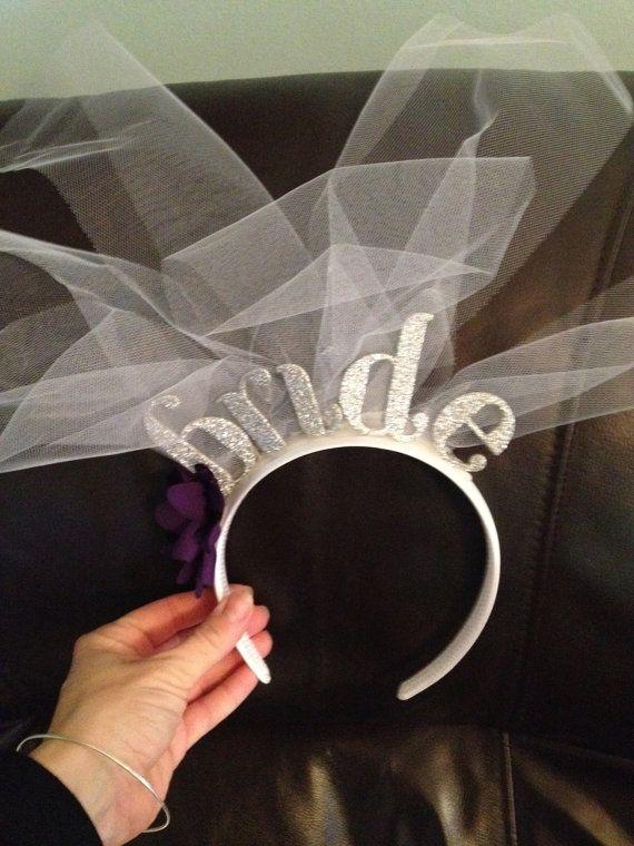Bachelorette Tiara Bridal Headband