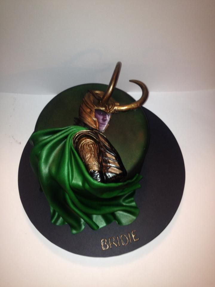 Made By Kristie Kent Loki Cake Loki Tomhiddleston
