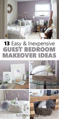 Mauve-lous Guest Bedroom Ideas: A Simple Spare Room ...