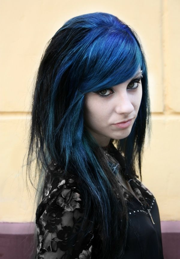 103 Best Images About Blue Hair Ideas On Pinterest Scene Hair