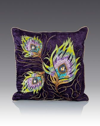 25+ best ideas about Peacock Pillow on Pinterest