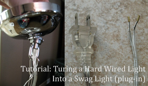 Swag Lamp Wiring Kit