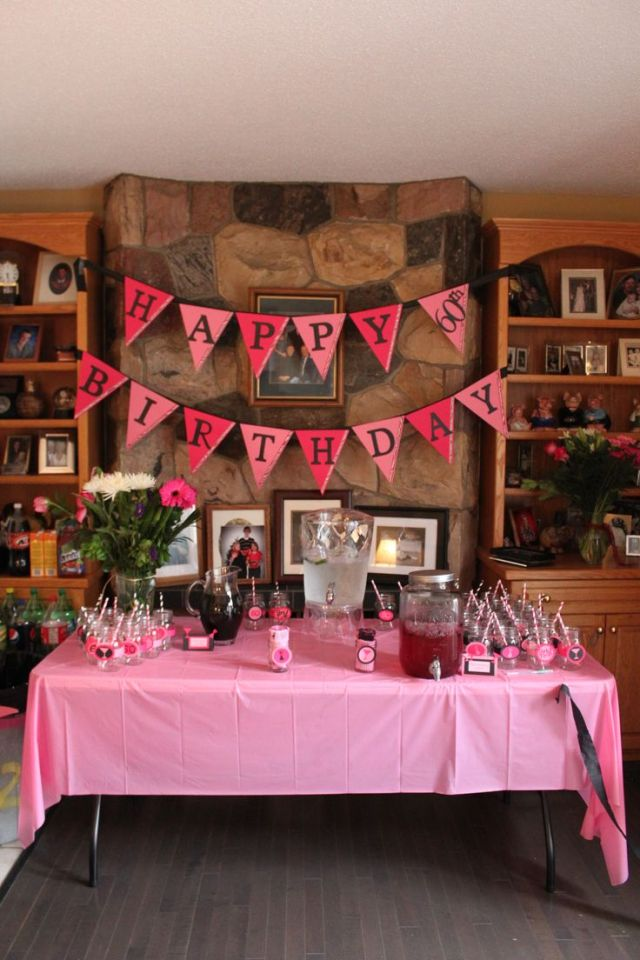 60th birthday party adult birthday party ideas