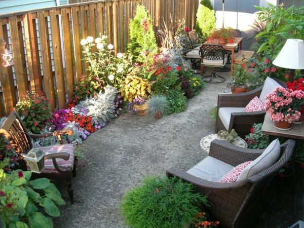 I Love This Tiny Patio.