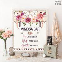 17 Best ideas about Mimosa Bar Sign on Pinterest | Bridal ...