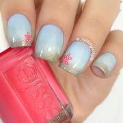 ideas beach nails