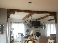 1000+ ideas about Wood Ceiling Beams on Pinterest | Faux ...