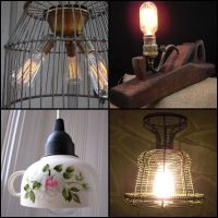 1000+ images about Upcycled Lighting Ideas & Projects on ...