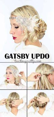gatsby updo swing dancing
